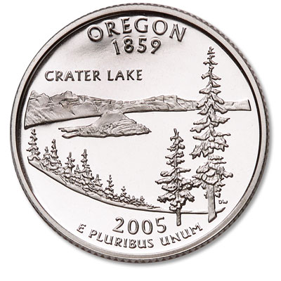 Image for 2005-S Oregon Statehood Quarter from Littleton Coin Company