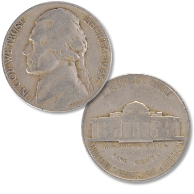 Image for 1946 Jefferson Nickel from Littleton Coin Company