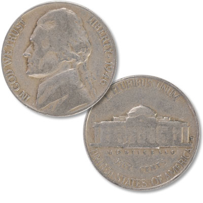 Image for 1946-D Jefferson Nickel from Littleton Coin Company