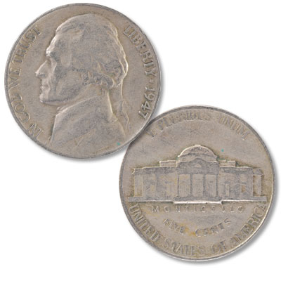 Image for 1947 Jefferson Nickel from Littleton Coin Company