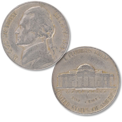 Image for 1948 Jefferson Nickel from Littleton Coin Company