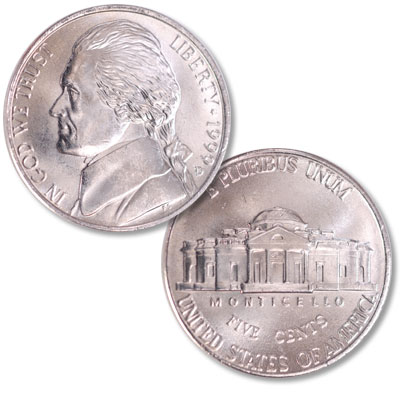 Image for 1999-D Jefferson Nickel from Littleton Coin Company