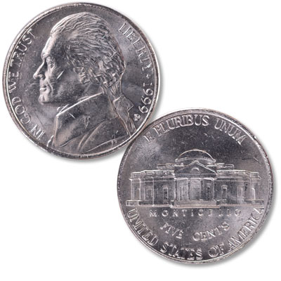 Image for 1999-P Jefferson Nickel from Littleton Coin Company