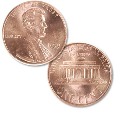 Image for 1999 Lincoln Head Cent from Littleton Coin Company