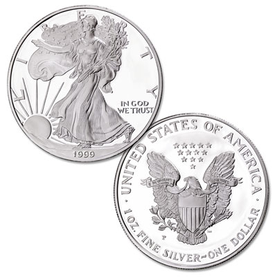 Image for 1999-P $1 Silver American Eagle from Littleton Coin Company