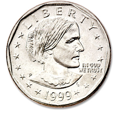 Image for 1999-P Susan B. Anthony Dollar from Littleton Coin Company