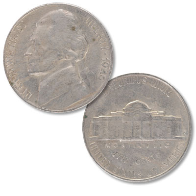 Image for 1949-S Jefferson Nickel from Littleton Coin Company