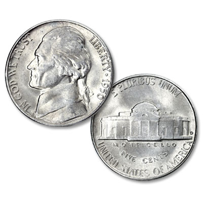 Image for 1950-D Jefferson Nickel from Littleton Coin Company