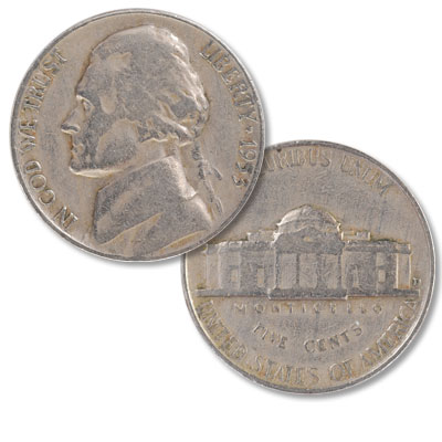 Image for 1953-D Jefferson Nickel from Littleton Coin Company
