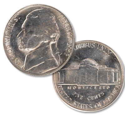 Image for 1953-S Jefferson Nickel from Littleton Coin Company
