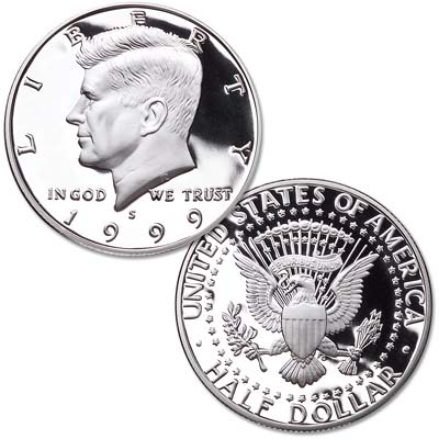 Image for 1999-S Clad Kennedy Half Dollar from Littleton Coin Company