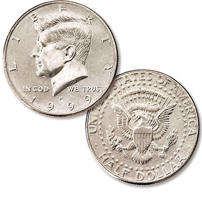 Image for 1999-P Kennedy Half Dollar from Littleton Coin Company