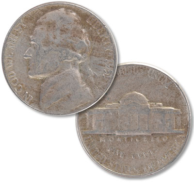 Image for 1955 Jefferson Nickel from Littleton Coin Company