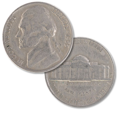 Image for 1955-D Jefferson Nickel from Littleton Coin Company