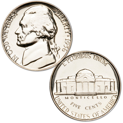 Image for 1956 Jefferson Nickel Proof from Littleton Coin Company