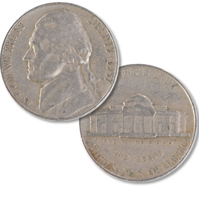 Image for 1957 Jefferson Nickel from Littleton Coin Company