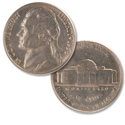 Image for 1958 Jefferson Nickel from Littleton Coin Company