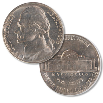 Image for 1958-D Jefferson Nickel from Littleton Coin Company