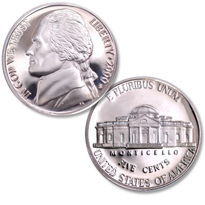Image for 2000-S Jefferson Nickel Proof from Littleton Coin Company