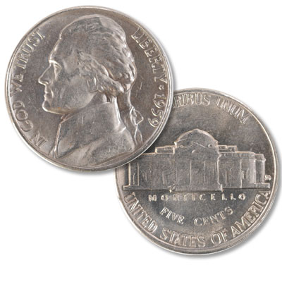 Image for 1959-D Jefferson Nickel from Littleton Coin Company