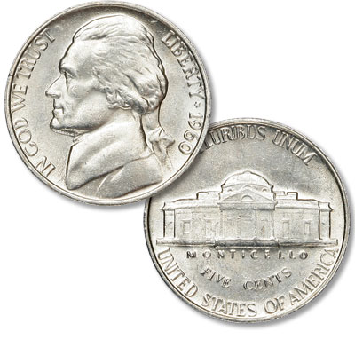 Image for 1960 Jefferson Nickel from Littleton Coin Company