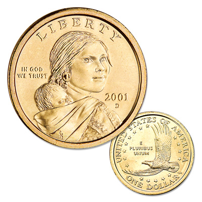 Image for 2001-D Sacagawea Dollar from Littleton Coin Company