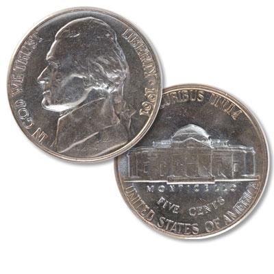 Image for 1961 Jefferson Nickel from Littleton Coin Company