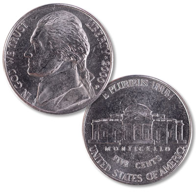 Image for 2000-P Jefferson Nickel from Littleton Coin Company