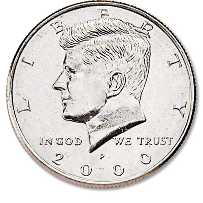 Image for 2000-P Kennedy Half Dollar from Littleton Coin Company