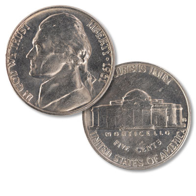 Image for 1961-D Jefferson Nickel from Littleton Coin Company