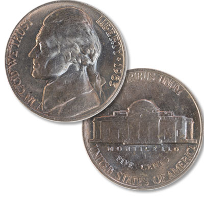 Image for 1963 Jefferson Nickel from Littleton Coin Company