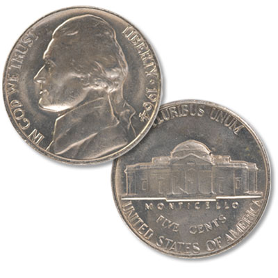 Image for 1964 Jefferson Nickel from Littleton Coin Company