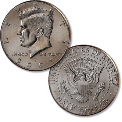 Image for 2001-D Kennedy Half Dollar from Littleton Coin Company