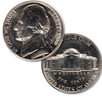 Image for 1966 Jefferson Nickel from Littleton Coin Company
