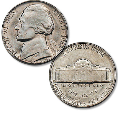 Image for 1968-S Jefferson Nickel from Littleton Coin Company