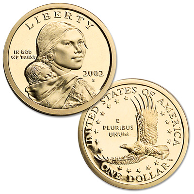 Image for 2002-S Sacagawea Dollar from Littleton Coin Company