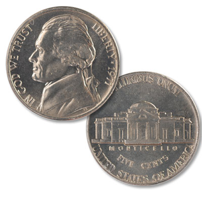 Image for 1971 Jefferson Nickel from Littleton Coin Company
