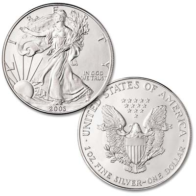 Image for 2003 $1 Silver American Eagle from Littleton Coin Company