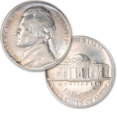 Image for 1971-S Jefferson Nickel Proof from Littleton Coin Company