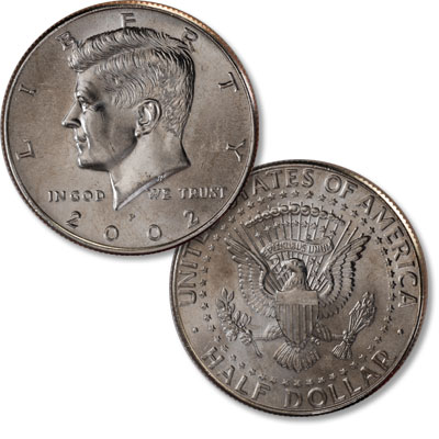 Image for 2002-P Kennedy Half Dollar from Littleton Coin Company