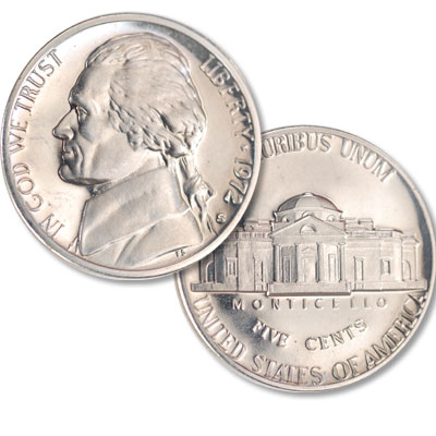Image for 1972-S Jefferson Nickel Proof from Littleton Coin Company