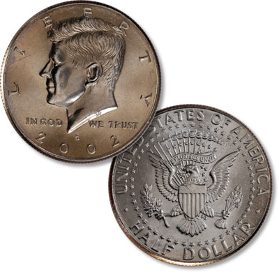 Image for 2002-D Kennedy Half Dollar from Littleton Coin Company
