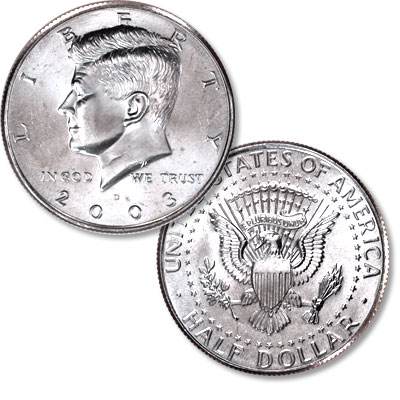 Image for 2003-D Kennedy Half Dollar from Littleton Coin Company