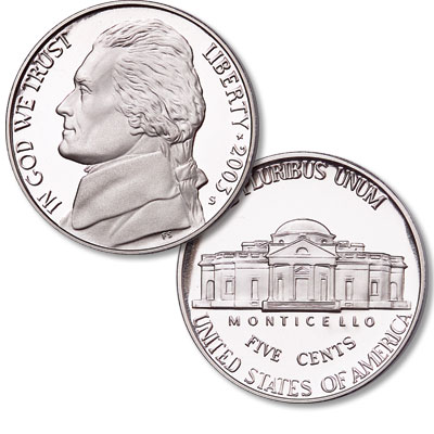 Image for 2003-S Jefferson Nickel from Littleton Coin Company