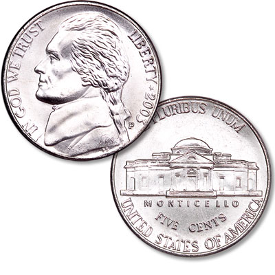 Image for 2003-P Jefferson Nickel from Littleton Coin Company