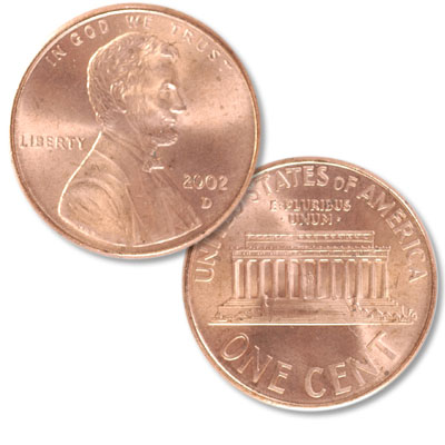 Image for 2002-D Lincoln Head Cent from Littleton Coin Company