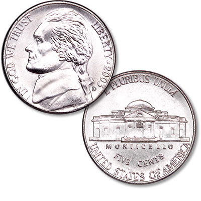 Image for 2003-D Jefferson Nickel from Littleton Coin Company