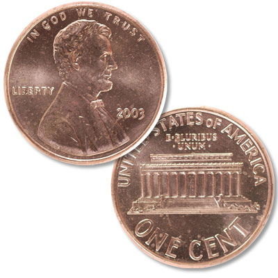 Image for 2003 Lincoln Head Cent from Littleton Coin Company