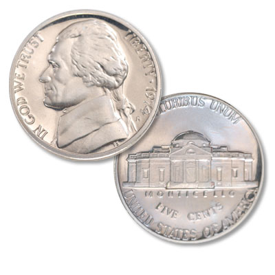 Image for 1974-S Jefferson Nickel Proof from Littleton Coin Company