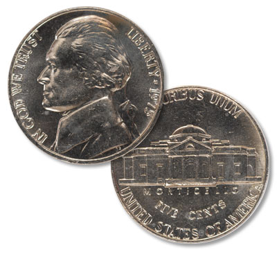 Image for 1975 Jefferson Nickel from Littleton Coin Company